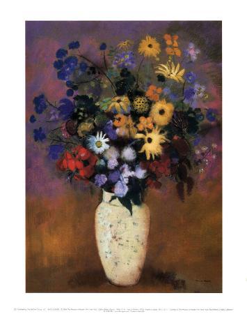 odilon-redon-vase-of-flowers-1914