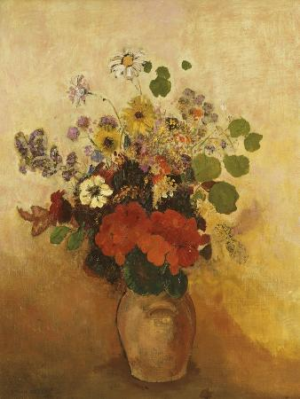 odilon-redon-vase-of-flowers