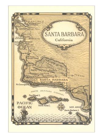 old-map-of-santa-barbara-california