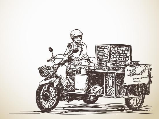 olga-tropinina-asian-street-food-on-motorbike-hand-drawn-vector-sketch