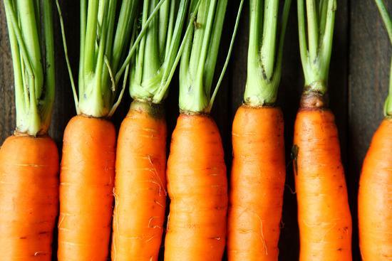 olha-afanasieva-raw-fresh-carrots-with-tails-top-view