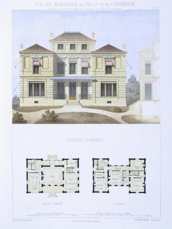 olive-roman-house-from-town-and-country-houses-based-on-the-modern-houses-of-paris-c-1864