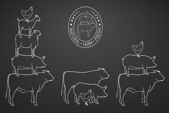 onionastudio-animals-pyramide-natural-farm-fresh