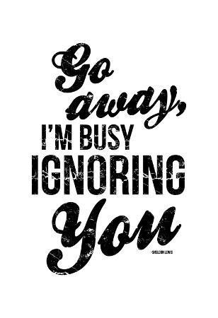 onrei-ignoring