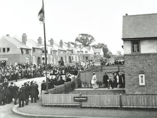opening-ceremony-on-ruislip-street-totterdown-estate-wandsworth-london-1903