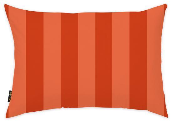orange-stripes-throw-pillow