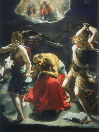 orazio-borgianni-st-jerome-s-dream-c1600