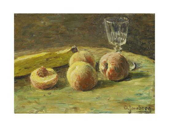 orneore-metelli-still-life-with-peaches-and-wine-glass-ca-1890