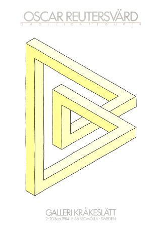 oscar-reutersvard-omojligafigurer-yellow