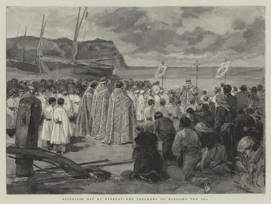 oswaldo-tofani-ascension-day-at-etretat-the-ceremony-of-blessing-the-sea