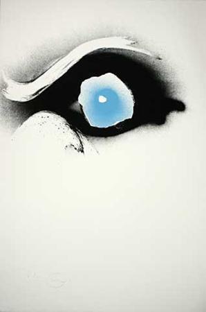 otto-piene-seuloeil-blau-schwarzes-auge-c-1991