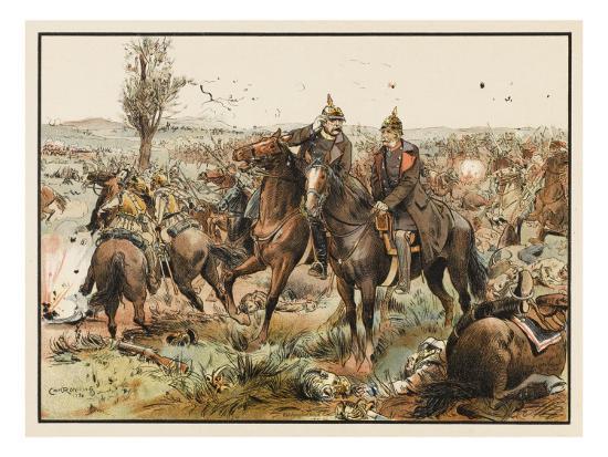 otto-von-bismarck-1815-1898-bismarck-at-the-battle-of-koniggratz