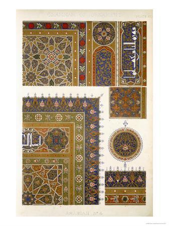 owen-jones-arabian-no-4-plate-xxxi-from-the-grammar-of-ornament-by-owen-jones
