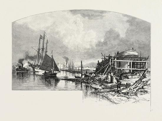 owen-sound-looking-up-the-harbour-canada-nineteenth-century