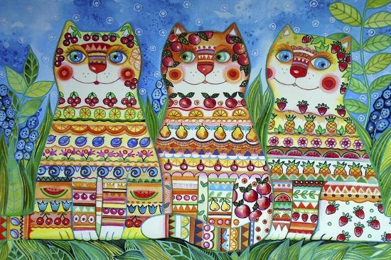 oxana-zaika-magic-happy-cats