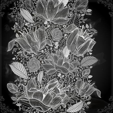 ozerina-anna-stylish-floral-background-hand-drawn-retro-flowers
