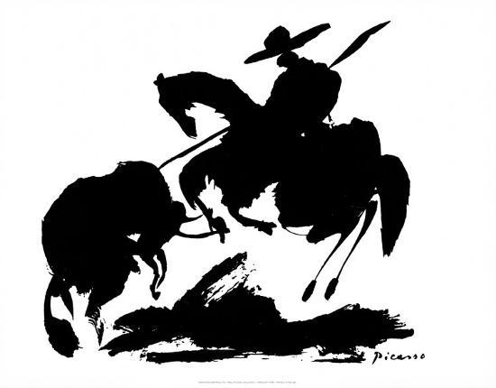 pablo-picasso-bullfight-i