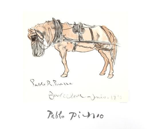 pablo-picasso-cheval-attele