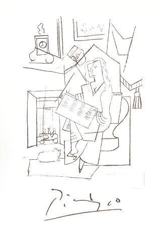 pablo-picasso-femme-dans-un-fauteuil