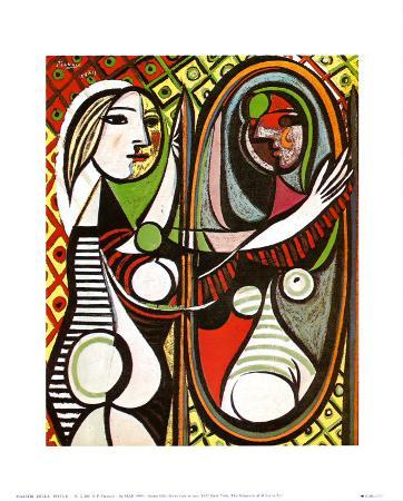 pablo picasso girl before a mirror Pablo picasso girl before a mirror girl before a mirror by oil painting art gallery  pablo picassos girl before a mirror can best be described as.