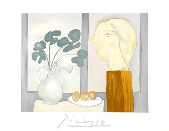 Nature Morte a la Fenetre Collectable Print by Pablo Picasso at Art.com