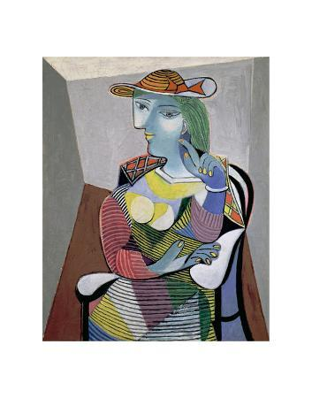 pablo-picasso-portrait-of-marie-therese-6th-january-1937