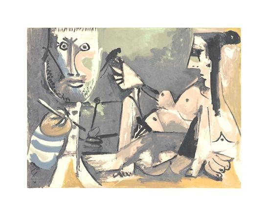 pablo-picasso-the-artist-and-his-model
