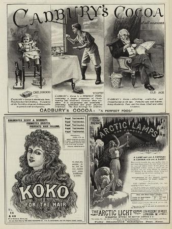 page-of-advertisements