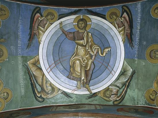paintings-of-jesus-christ-with-angels-panagia-too-araka-lagoudera-cyprus