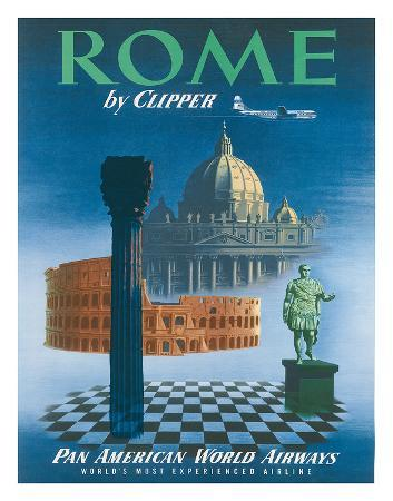 pan-american-rome-by-clipper-vatican-and-coliseum-c-1951