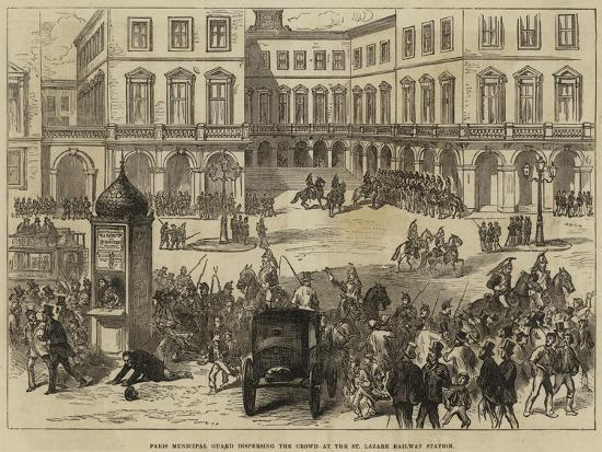 paris-municipal-guard-dispersing-the-crowd-at-the-st-lazare-railway-station