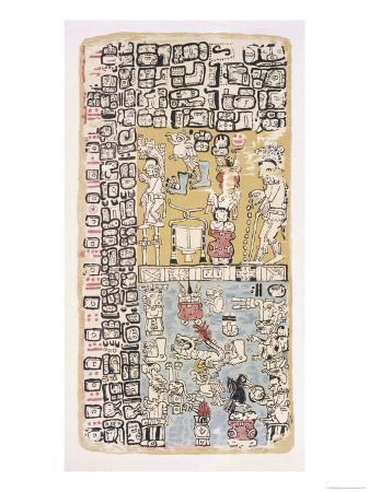 part-of-a-calendar-used-by-maya-priests-depicting-gods-and-symbolic-creatures