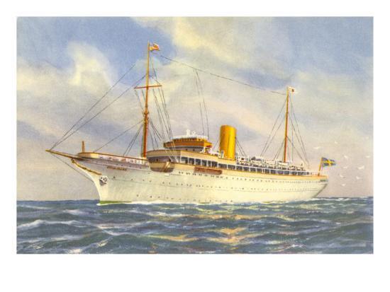 passenger-ship-under-swedish-flag