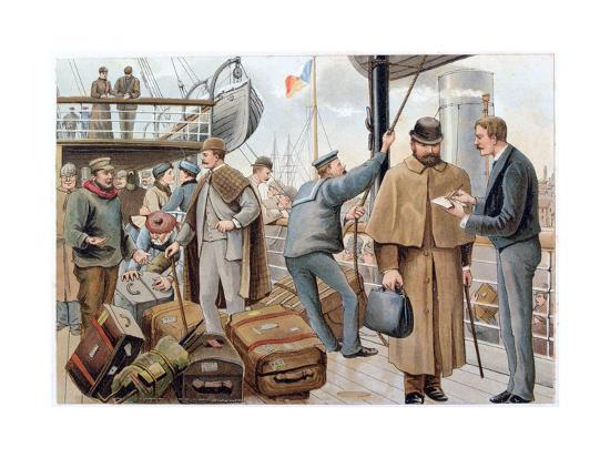 passengers-joining-a-p-o-liner-in-the-thames-c1890