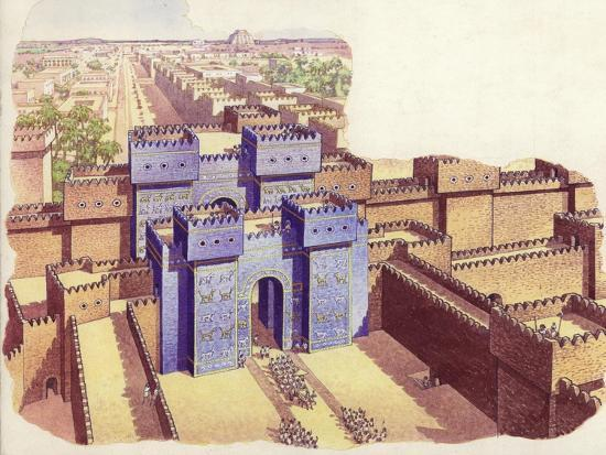pat-nicolle-the-ishtar-gate-of-babylon
