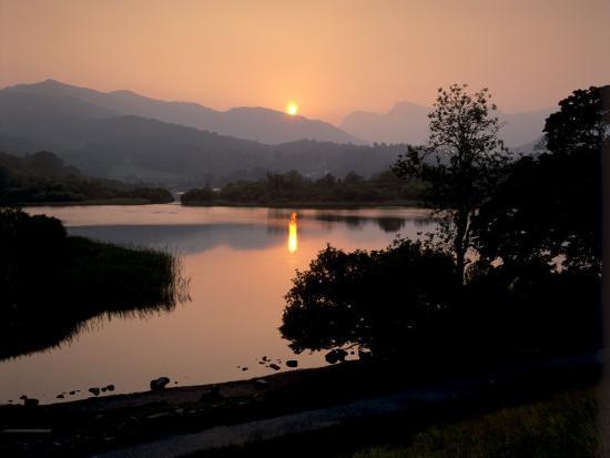 patrick-dieudonne-sunset-on-elter-water-near-ambleside-lake-district-national-park-cumbria-england-uk