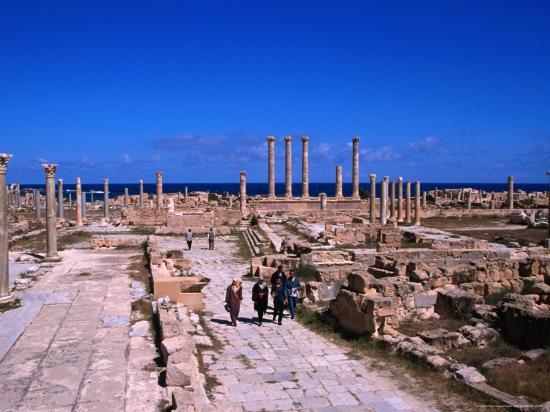 patrick-syder-main-temple-area-and-thoroughfare-in-roman-city-sabratha-libya
