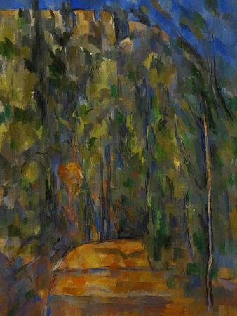 paul-cezanne-bend-in-the-forest-road-1902-1906