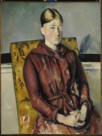 paul-cezanne-madame-cezanne-with-a-yellow-armchair-1888-90