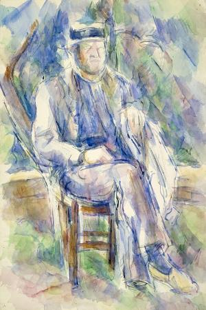 paul-cezanne-man-wearing-a-straw-hat-1905-06