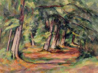Evs Interim Aulnay Sous Bois - Sous Bois 1890 94 Giclee Print by Paul Cézanne at Art com