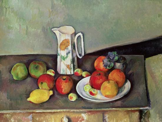 paul-cezanne-still-life-with-milkjug-and-fruit-circa-1886-90