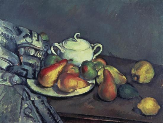 paul-cezanne-still-life-with-sugar-can-pears-and-tablecloth