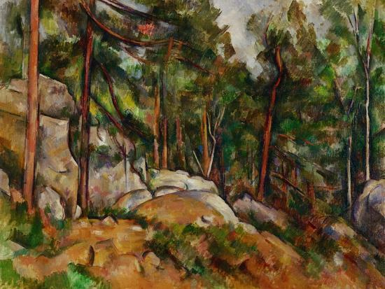 paul-cezanne-the-rocks-in-the-park-of-the-chateau-noir-1898-1899