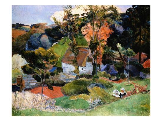 paul-gauguin-landscape-at-pont-aven