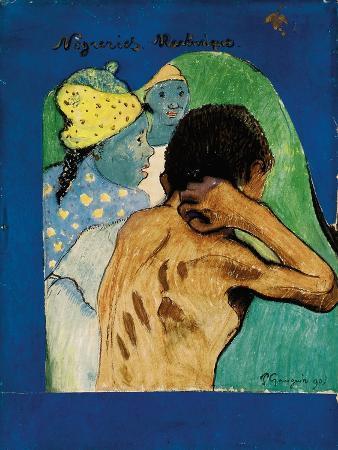 paul-gauguin-negreries-martinique-1890