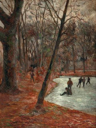 paul-gauguin-skaters-in-the-park-in-frederiksberg-1884