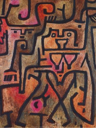 paul-klee-forest-witches-1938