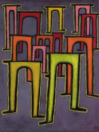 paul-klee-revolution-of-the-viaduct-1937