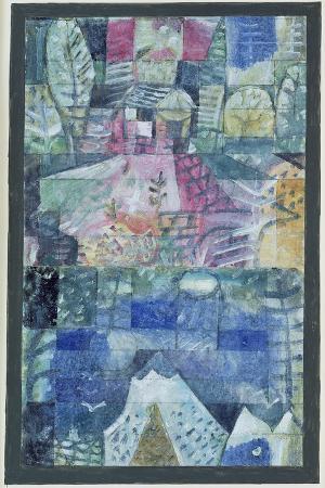 paul-klee-souvenir-picture-of-a-trip-1922